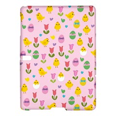 Easter   Chick And Tulips Samsung Galaxy Tab S (10 5 ) Hardshell Case  by Valentinaart
