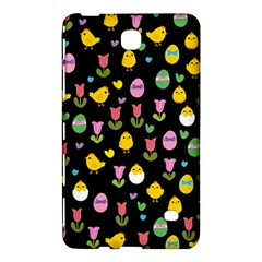 Easter   Chick And Tulips Samsung Galaxy Tab 4 (8 ) Hardshell Case  by Valentinaart