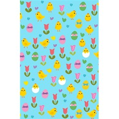 Easter   Chick And Tulips 5 5  X 8 5  Notebooks by Valentinaart