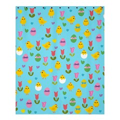 Easter   Chick And Tulips Shower Curtain 60  X 72  (medium)