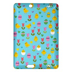 Easter   Chick And Tulips Amazon Kindle Fire Hd (2013) Hardshell Case by Valentinaart