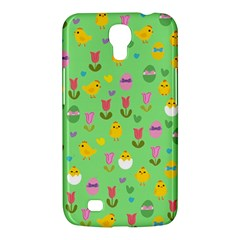 Easter   Chick And Tulips Samsung Galaxy Mega 6 3  I9200 Hardshell Case by Valentinaart