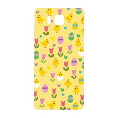 Easter   Chick And Tulips Samsung Galaxy Alpha Hardshell Back Case by Valentinaart