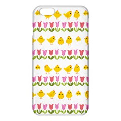 Easter   Chick And Tulips Iphone 6 Plus/6s Plus Tpu Case by Valentinaart