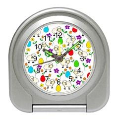 Easter Lamb Travel Alarm Clocks by Valentinaart
