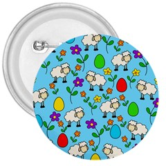 Easter lamb 3  Buttons by Valentinaart