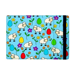 Easter Lamb Apple Ipad Mini Flip Case by Valentinaart