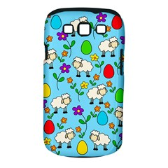 Easter Lamb Samsung Galaxy S Iii Classic Hardshell Case (pc+silicone) by Valentinaart