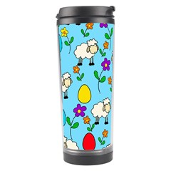 Easter Lamb Travel Tumbler by Valentinaart