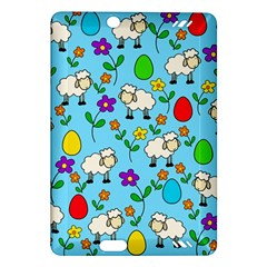Easter Lamb Amazon Kindle Fire Hd (2013) Hardshell Case by Valentinaart