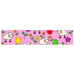 Easter lamb Flano Scarf (Small)