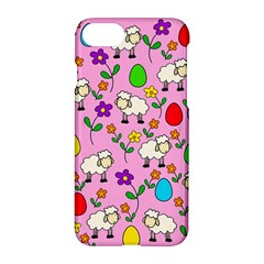 Easter Lamb Apple Iphone 7 Hardshell Case by Valentinaart