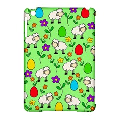 Easter Lamb Apple Ipad Mini Hardshell Case (compatible With Smart Cover) by Valentinaart