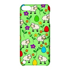 Easter Lamb Apple Ipod Touch 5 Hardshell Case With Stand by Valentinaart
