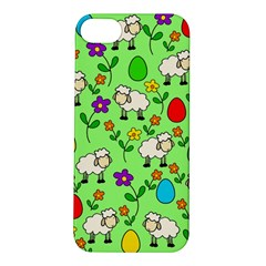 Easter Lamb Apple Iphone 5s/ Se Hardshell Case by Valentinaart