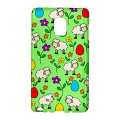 Easter Lamb Galaxy Note Edge by Valentinaart