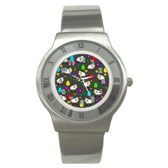 Easter Lamb Stainless Steel Watch by Valentinaart
