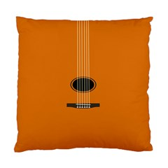 Minimalism Art Simple Guitar Standard Cushion Case (two Sides) by Mariart