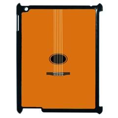 Minimalism Art Simple Guitar Apple Ipad 2 Case (black) by Mariart