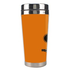 Minimalism Art Simple Guitar Stainless Steel Travel Tumblers by Mariart