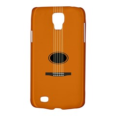 Minimalism Art Simple Guitar Galaxy S4 Active by Mariart