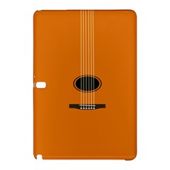 Minimalism Art Simple Guitar Samsung Galaxy Tab Pro 10 1 Hardshell Case by Mariart