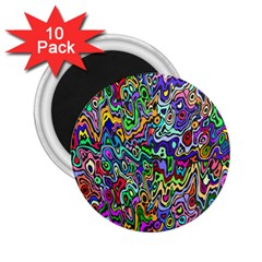 Colorful Abstract Paint Rainbow 2 25  Magnets (10 Pack)  by Mariart