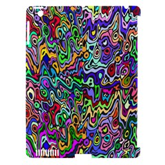Colorful Abstract Paint Rainbow Apple Ipad 3/4 Hardshell Case (compatible With Smart Cover) by Mariart