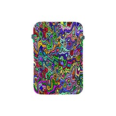 Colorful Abstract Paint Rainbow Apple Ipad Mini Protective Soft Cases by Mariart