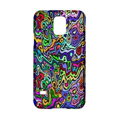 Colorful Abstract Paint Rainbow Samsung Galaxy S5 Hardshell Case  by Mariart