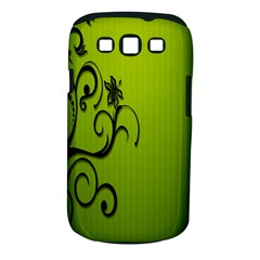 Illustration Wallpaper Barbusak Leaf Green Samsung Galaxy S Iii Classic Hardshell Case (pc+silicone) by Mariart