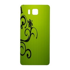 Illustration Wallpaper Barbusak Leaf Green Samsung Galaxy Alpha Hardshell Back Case by Mariart