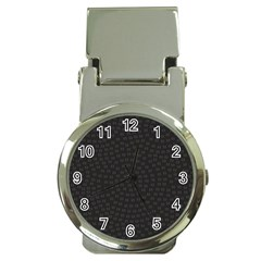 Oklahoma Circle Black Glitter Effect Money Clip Watches by Mariart