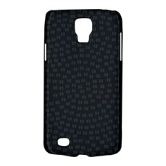 Oklahoma Circle Black Glitter Effect Galaxy S4 Active by Mariart