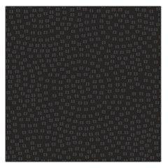 Oklahoma Circle Black Glitter Effect Large Satin Scarf (square) by Mariart