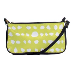 Polkadot White Yellow Shoulder Clutch Bags by Mariart
