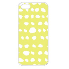 Polkadot White Yellow Apple Iphone 5 Seamless Case (white) by Mariart