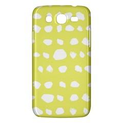 Polkadot White Yellow Samsung Galaxy Mega 5 8 I9152 Hardshell Case  by Mariart