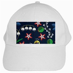 Origami Flower Floral Star Leaf White Cap by Mariart