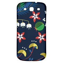 Origami Flower Floral Star Leaf Samsung Galaxy S3 S Iii Classic Hardshell Back Case by Mariart