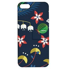 Origami Flower Floral Star Leaf Apple Iphone 5 Hardshell Case With Stand by Mariart