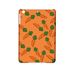 Carrot Pattern Ipad Mini 2 Hardshell Cases by Valentinaart