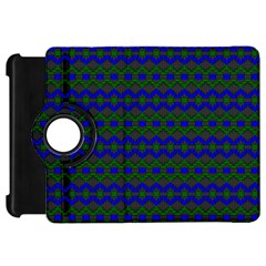 Split Diamond Blue Green Woven Fabric Kindle Fire Hd 7  by Mariart