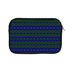 Split Diamond Blue Green Woven Fabric Apple Ipad Mini Zipper Cases by Mariart