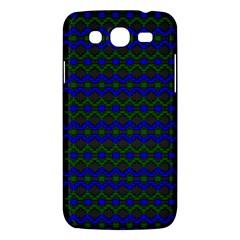 Split Diamond Blue Green Woven Fabric Samsung Galaxy Mega 5 8 I9152 Hardshell Case  by Mariart