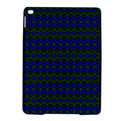 Split Diamond Blue Green Woven Fabric Ipad Air 2 Hardshell Cases by Mariart