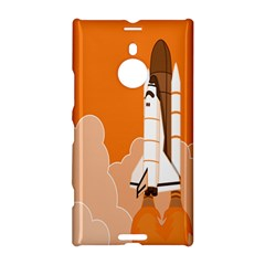 Rocket Space Ship Orange Nokia Lumia 1520 by Mariart