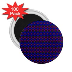 Split Diamond Blue Purple Woven Fabric 2 25  Magnets (100 Pack)  by Mariart