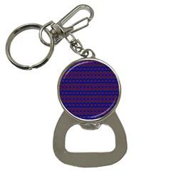 Split Diamond Blue Purple Woven Fabric Button Necklaces by Mariart