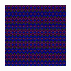 Split Diamond Blue Purple Woven Fabric Medium Glasses Cloth (2 Side) by Mariart